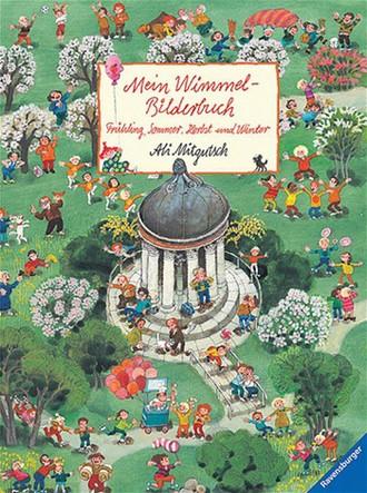 Wimmelbuch Frühling, Sommer, Herbst Und Winter