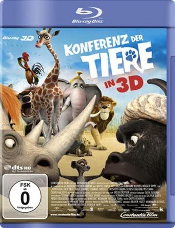 Konferenz der Tiere [3D Blu-ray]