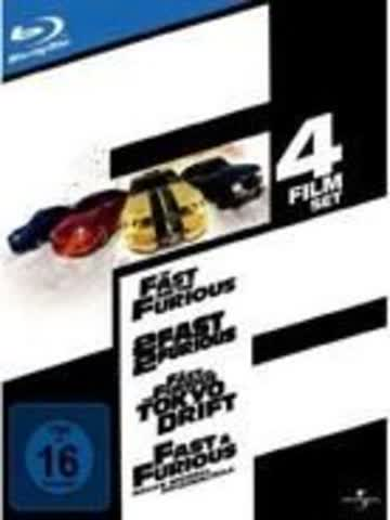 The Fast and the Furious 1-4 [Blu-ray]