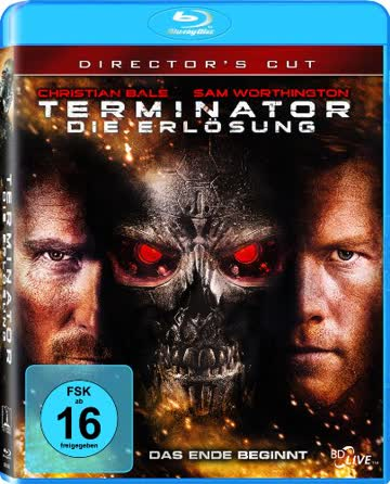 Terminator - Die Erlösung (Kinoversion + Director's Cut) [Blu-ray]