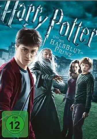 Harry Potter 6 (DVD) Und d.Halbblutprinz Min: 127DD5.1WS -singel- 1DVD [Import germany]