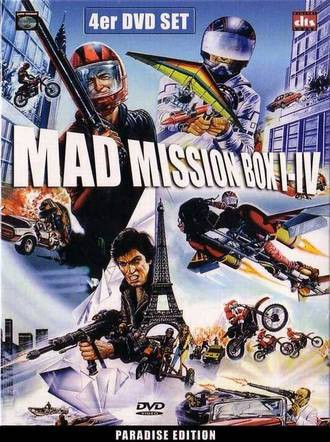 Mad Mission Box I - IV: Paradise Edition