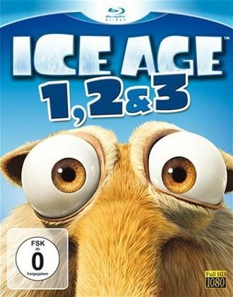 Ice Age 1, 2 & 3