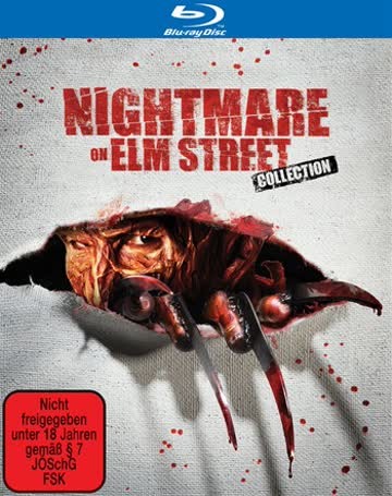 Nightmare Collection (BluRay), Nightmare 1-7 (5 Disc-Set)