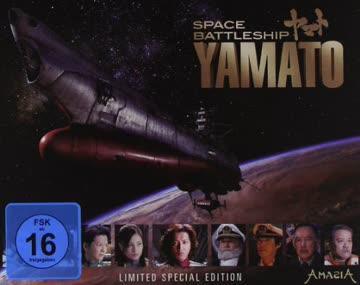 Space Battleship Yamato (BR) Lim. S.E. Min: 134DTS-HD5.1HD-1080p [Import germany]