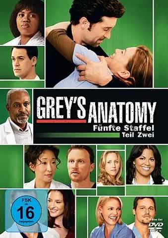 Grey's Anatomy: Die jungen Ärzte - Fünfte Staffel, Teil Zwei [4 DVDs]