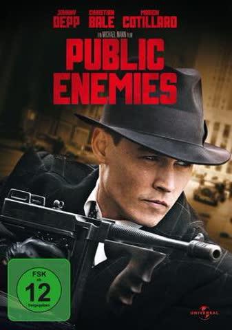 PUBLIC ENEMIES - MOVIE [DVD] [2009]