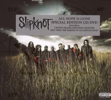 Slipknot - All Hope Is Gone (Limited CD/DVD DigiPak)