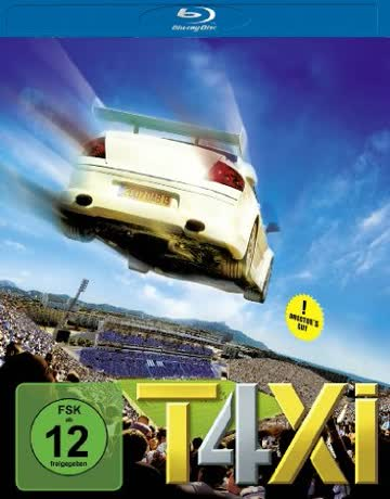 Taxi 4 - Director's Cut (Inkl. Wendecover) [Blu-ray]