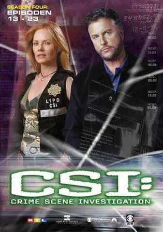 CSI: Crime Scene Investigation - Season 4.2 (Amaray) [3 DVDs]