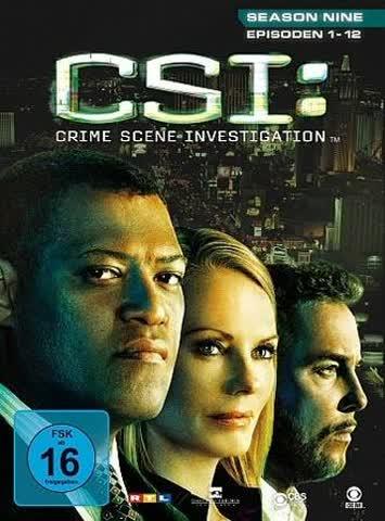 CSI: Crime Scene Investigation - Season 9.1 [3 DVDs]