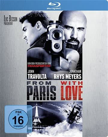 From Paris with Love - Steelbook [Blu-ray] [Limited Edition]