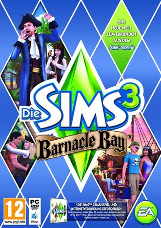 The SIMS 3 Barnacle Bay (Code In A Box)
