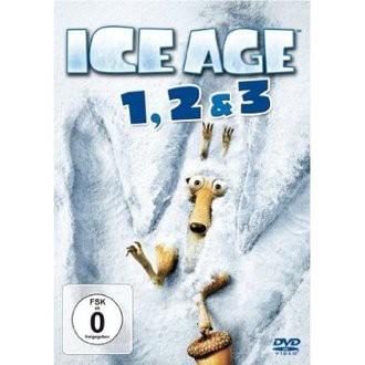 DVD ICE AGE 1,2 & 3