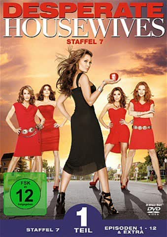 Desperate Housewives - Staffel 7, Teil 1 [3 DVDs]
