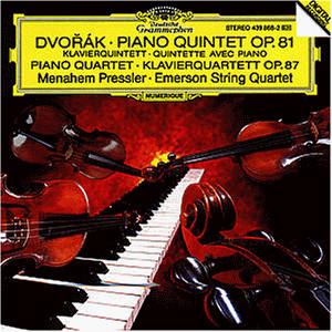 Pressler - Klavierquintett Op. 81 / Klavierquartett 87