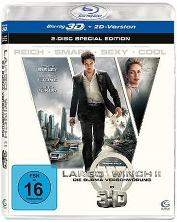 Largo Winch 2 - Die Burma-Verschwörung (inkl. 2D Version) [Blu-ray 3D] [Special Edition]