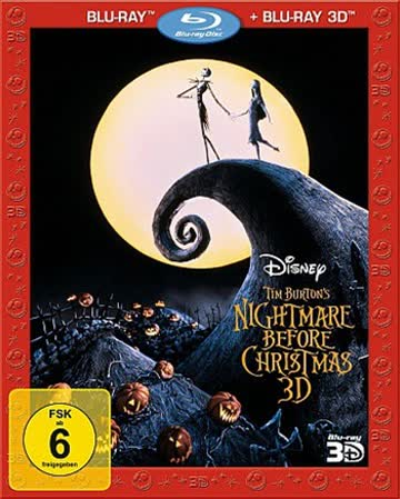 Nightmare Before Christmas - Blu-Ray 3d