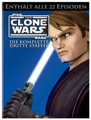 Star Wars: The Clone Wars - Die komplette dritte Staffel [5 DVDs]