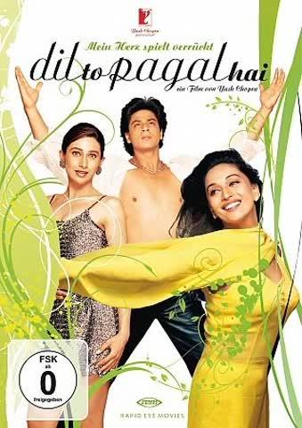 Shah Rukh Khan Madhuri Dixit Karishma Kapoor