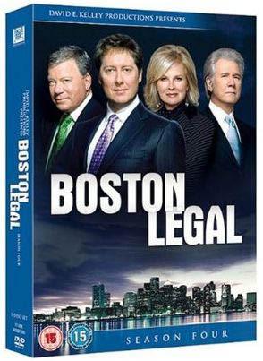 Boston Legal - Season 4 [5 DVDs]