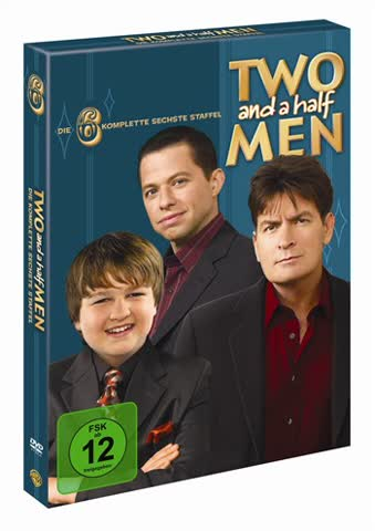 Two and a Half Men: Mein cooler Onkel Charlie - Die komplette sechste Staffel [4 DVDs]