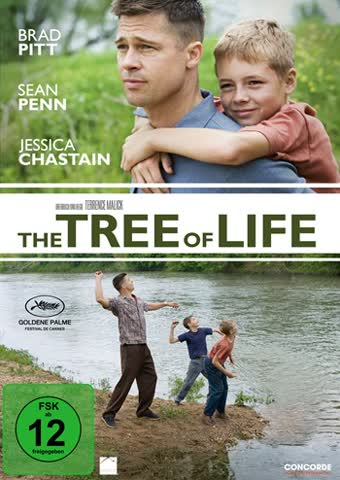 Tree of Life, The (DVD) Min: 131DD5.1WS [Import germany]