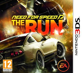 3DS need for speed: the run