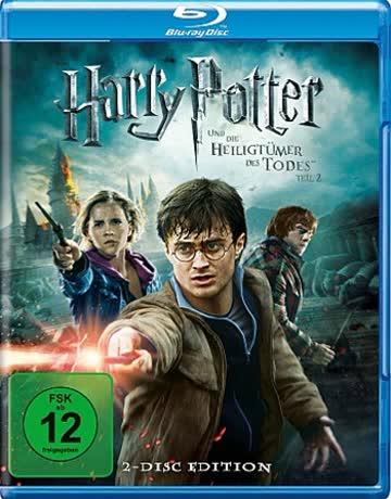 Harry Potter und die Heiligtümer des Todes Teil 2 Blue-Ray