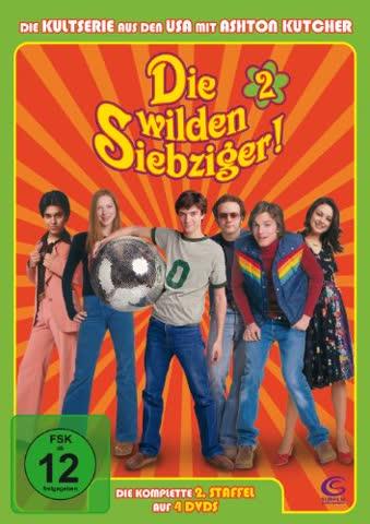 Die wilden Siebziger! - Die komplette 2. Staffel (4 DVDs - Amaray)