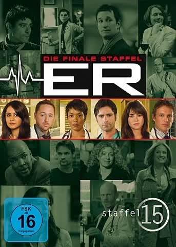 ER - Emergency Room, Staffel 15 [3 DVDs]