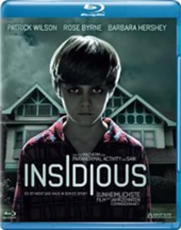 Insidious Blu Ray