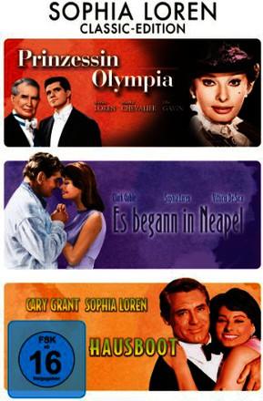 Prinzessin Olympia / Es begann in Neapel / Hausboot [3 DVDs]
