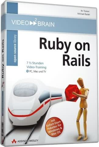 Ruby on Rails - Video-Training (DVD-ROM)