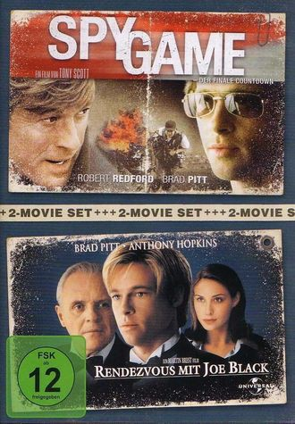 2-Movie Set:Spy Game & Rendezvous mit Joe Black