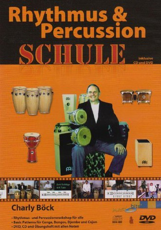 Charly Böck - Rhythmus & Percussion Schule (+ Audio-CD)