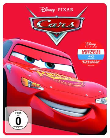 Cars - Steelbook [Blu-ray] [Limited Edition]
