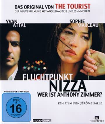 Fluchtpunkt Nizza - Anthony Zimmer