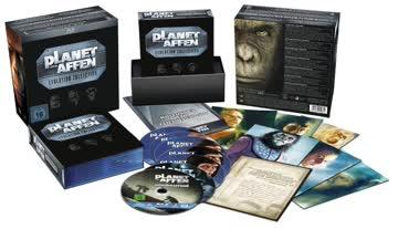 Planet der Affen - Evolution Collection [Blu-ray] [Import allemand]