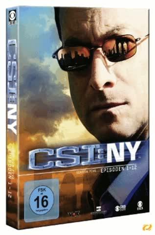 CSI: NY - Season 5.1 [3 DVDs]