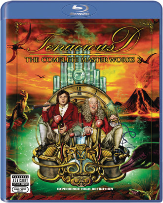 Tenacious D -  Complete Masterworks 2   (Blu-ray)