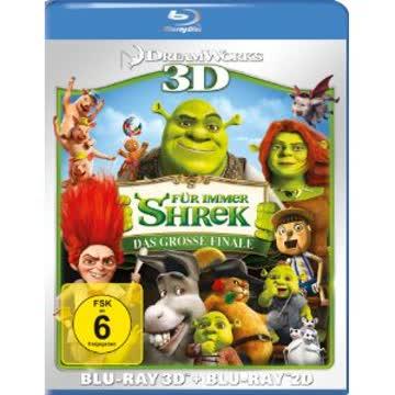 Shrek 4 - 3d [Blu-ray]