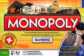 Monopoly Banking Schweizer Edition - Edition Suisse