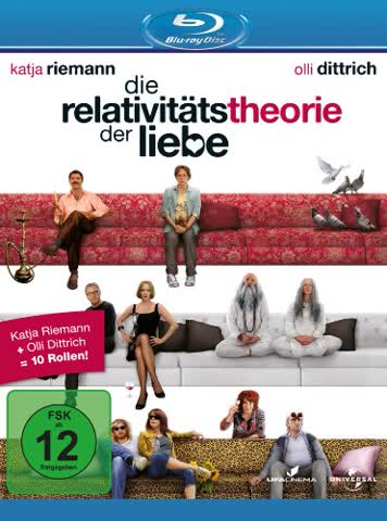 Die Relativitätstheorie der Liebe [Blu-ray]