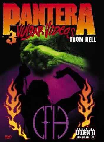 Pantera: 3 Vulgar Videos From Hell [Region 2]