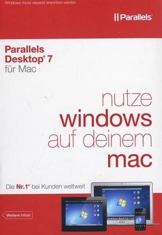 Parallels Desktop 7 für Mac