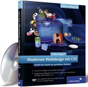 Modernes Webdesign mit CSS: Schritt für Schritt zur perfekten Website, aktuell zu CSS3 (Galileo Design)