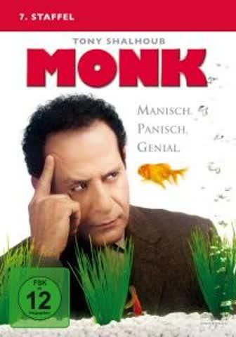 Monk - 7. Staffel [4 DVDs]