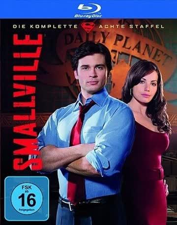 BD * Smallville - Die komplette 8. Staffel (Box Set / 4 Discs) [Blu-ray] [Import allemand]