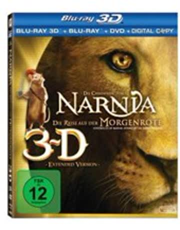 Chroniken v. Narnia 3 3D (BR) 3Discs Die Reise auf der Morgenröte 3D+2DBR+DVD Min: 111DD5.1WS [Import germany]